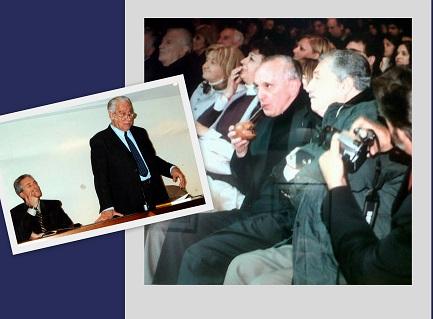 Methol Ferré in cattedra. Bergoglio tra il pubblico…