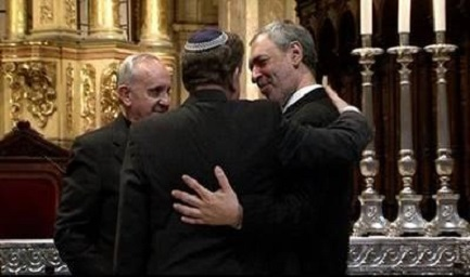 Bergoglio, il rabbino Skorka, l'imam Abboud