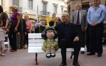 L'ARGENTINA PIU' FAMOSA NEL MONDO. E' Mafalda, la creatura di Quino, che compie 50 anni. E anche lei teme la terza guerra mondiale in pezzi