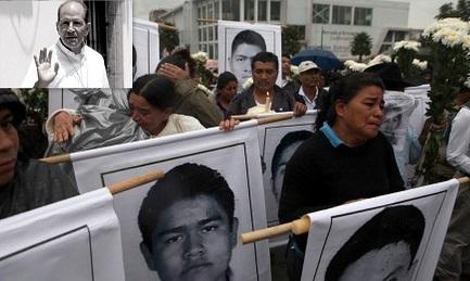 """""""SONO TUTTI MORTI"""". Lo afferma un sacerdote messicano basandosi sulle testimonianze di chi era presente il giorno della scomparsa dei 43 studenti"""