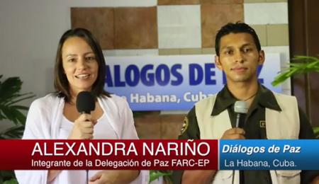 QUI GUERRIGLIA, A VOI STUDIO! Le FARC lanciano un telegiornale on-line. Lo conduce una presentatrice di nazionalità olandese