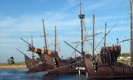 12 OTTOBRE. DOVE TUTTO EBBE INIZIO. Localizzato il porto da cui Cristoforo Colombo partì alla scoperta dell'America con le tre caravelle