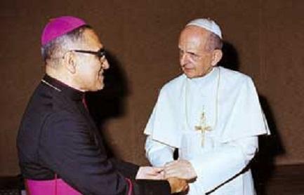 PAOLO VI SUL COMODINO DI ROMERO. Il ritratto del Papa appena beatificato nella stanza del vescovo salvadoregno. Una frequentazione che risale agli anni quaranta