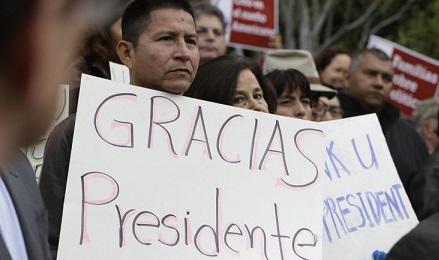 GRACIAS MR. PRESIDENT. 4,7 milioni di persone beneficeranno delle nuove regole migratorie della riforma Obama. In maggioranza messicani e centroamericani