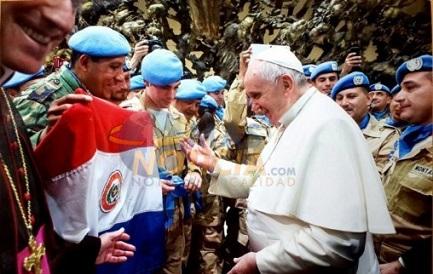 NELLA TERRA DEI GUARANÍ. Si precisano le date e il programma del viaggio del Papa: 10, 11 e 12 luglio. Proveniente da Ecuador e Bolivia