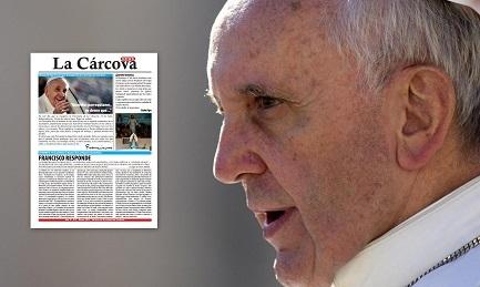 """La copertina de """"La Carcova news"""" con l'intervista/Composizioni di Emiliano Rodriguez"""