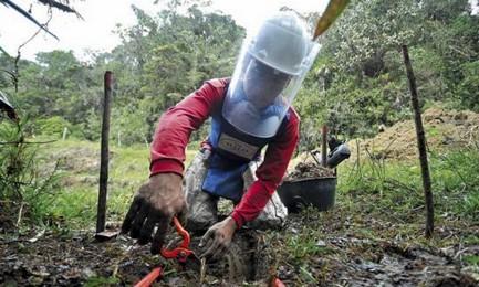 I CACCIATORI DI MINE DELLA COLOMBIA. Viaggio tra gli uomini che disinnescano gli ordigni antiuomo disseminati sul terreno dalla guerriglia