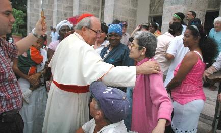 DAI CAMPI DI LAVORO ALLA SVOLTA CUBANA. Il cardinale di L'Avana Ortega y Alamino diventerà l'unico arcivescovo in tutto il mondo ad aver ricevuto tre Papi