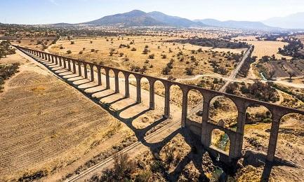 CINQUE SECOLI, MA NON LI DIMOSTRA. La più importante opera di ingegneria idraulica realizzata in Messico nel XVI secolo diventa patrimonio dell'umanità
