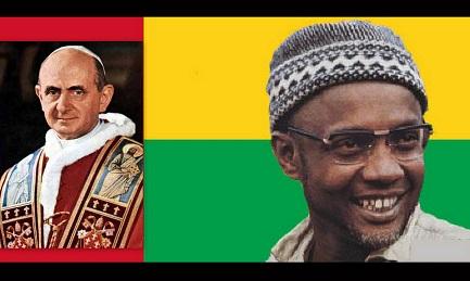 Il leader del movimento guerrigliero della Guinea-Bissau, Amilcar Cabral   Composizione di Emiliano I. Rodriguez