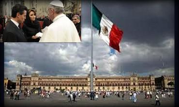 FRANCESCO IN MESSICO. Per la prima volta un Papa metterà piede nel Palazzo presidenziale, simbolo della rivoluzione messicana
