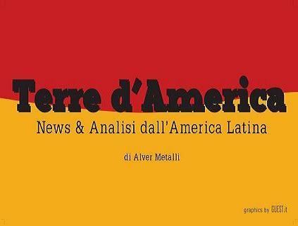 TERRE D'AMERICA. Le cinque notizie più lette nel mese di gennaio