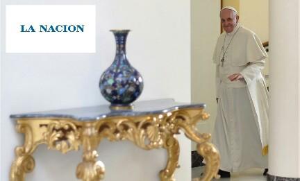 LA NACIÓN CAMBIA REGISTRO. E dà voce al Papa che bacchetta gli autonominati portavoce o interpreti del suo pensiero.