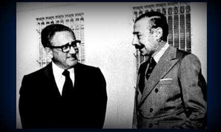 Kissinger con Videla negli anni '70