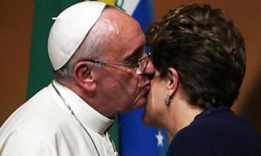 L'AMERICA LATINA VISTA DAL PAPA. Golpe di stato bianco e Patria Grande. Lettera personale di Papa Francesco alla Presidente sospesa del Brasile Dilma Rousseff