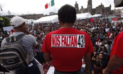 QUASI 28 MILA DESAPARECIDOS IN MESSICO. Lo riportano le statistiche ufficiali riepilogando i numeri a tutto il 2015. Come nella dittatura argentina