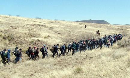 PRIMA CHE VENGA TRUMP. Il 20 gennaio si avvicina e il flusso dei migranti centroamericani verso la frontiera si intensifica nel timore che tutto diventi più difficile