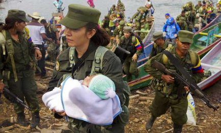 COLOMBIA I FIGLI DELLA PACE. Sono i bebè delle guerrigliere, nati dopo gli accordi del governo con le Farc. Per loro nursery e asili nei punti di concentramento
