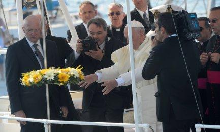 Gli inizi, a Lampedusa