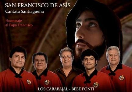 La locandina della Cantata che verrà presentata a Campana in marzo