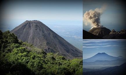 TRE VULCANI DELL'AMERICA CENTRALE TRA I PIÚ PERICOLOSI DEL MONDO. Due sono in El Salvador, uno in Guatemala