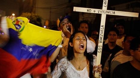"""E' UNA DITTATURA. Dura presa di posizione dei Gesuiti del Venezuela, che invitano """"ad agire attraverso la protesta pacifica, senza armi, resistendo all'abuso del potere"""""""
