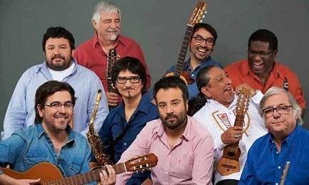 Il gruppo cileno com'è oggi in una foto di Prensa Latina.