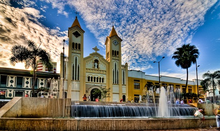 La Cattedrale Nuestra Señora del Carmen di Villavicencio