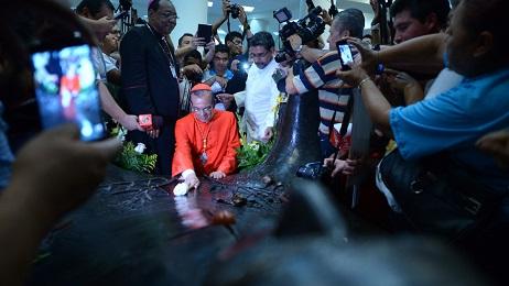 ROSA CHÁVEZ. DA EL SALVADOR ALLA COREA. Era prossimo a presentare le sue dimissioni, e il Papa lo crea cardinale. Un uomo esperto in conflitti, che affronterà quello asiatico