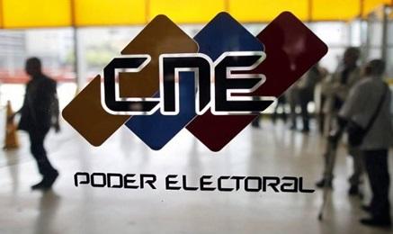 La sede centrale del Consiglio nazionale elettorale a Caracas (Reuters)