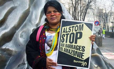 Sonia Guajajara, importante attivista indigena (Foto Survival International).