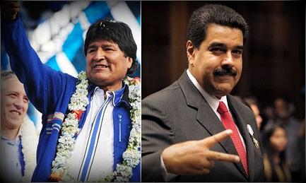 RIELEZIONI A TUTTI I COSTI. Il boliviano Morales e il venezuelano Maduro rilanciano la posta per un nuovo mandato