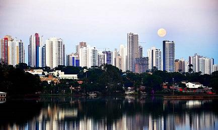 Vista della città di Londrinha, dove si riuniranno le CEBs del Brasile