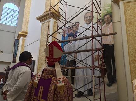 Preparativi nella cattedrale di San Salvador