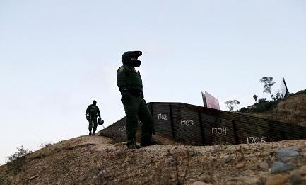 Guardia nazionale al confine (Foto AP)