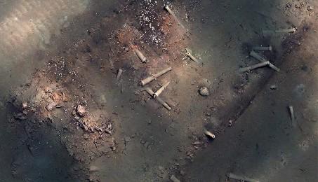 Il riposo del galeone (Foto: Proprietà dell'Instituto Colombiano de Antropología e Historia)