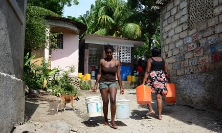 Disuguaglianze idriche (Foto Sergio I. Campos G.)