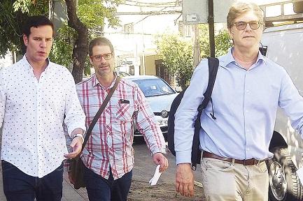 Juan Carlos Cruz, José Andrés Murillo e James Hamilton