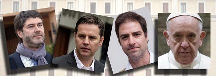 PICCOLE INDISCREZIONI DAL SANTA MARTA. Cosa si è detto negli incontri tra Papa Francesco e Murillo, Hamilton e Cruz, vittime di Karadima?