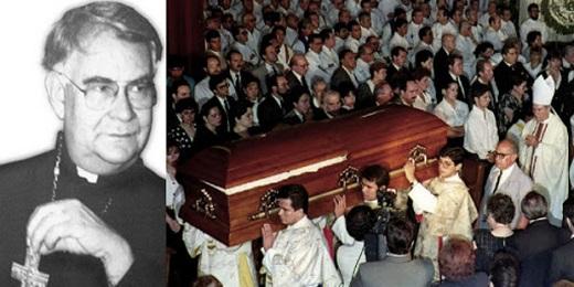 Il funerale, il 27 maggio 1993