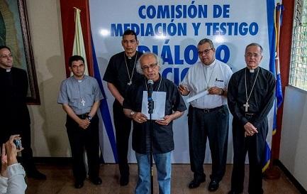 Il cardinale Leopoldo Brenes enuncia le condizioni per il dialogo nazionale