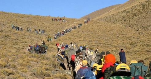 Processione ad oltre 4 mila metri, al santuario della Madonna di Copacabana, in Perù