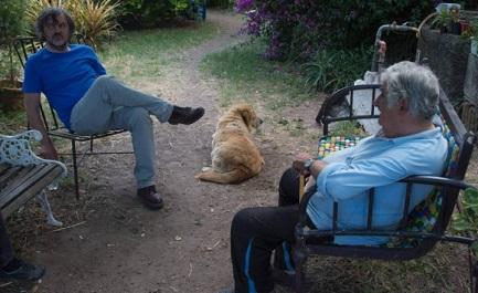 Kusturica con l'ex-presidente dell'Uruguay Mujica