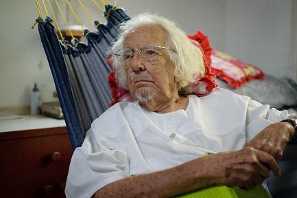 Ernesto Cardenal (Foto Franklin Villavicencio-Niú)