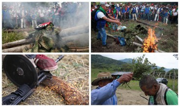PICCOLA ED ESEMPLARE STORIA COLOMBIANA. Una comunità indigena cattura e processa due guerriglieri dell'ELN, e li condanna a vivere otto anni in pace e senza armi