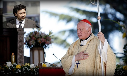 L'INFINITO TERREMOTO CILENO. Il Cardinale Riccardo Ezzati indagato per presunto occultamento di abusi sessuali in due casi gravi