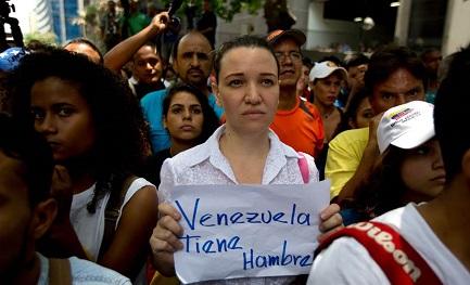 Il Venezuela ha fame