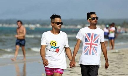 Una spiaggia nei pressi di L'Avana, luogo di ritrovo della comunità gay (Alejandro Ernesto-EFE)